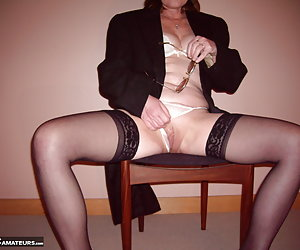 I found this antique top hat and coat and loved it  I felt very sexy in it when i was just in a bra and panties and blac