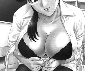 Who is anxious to have her breasts pressed up against the windows
