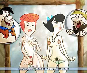 Sex Toons in Stone Age