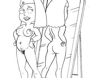 These cartoon celebs prefer nudity and lots of cocks