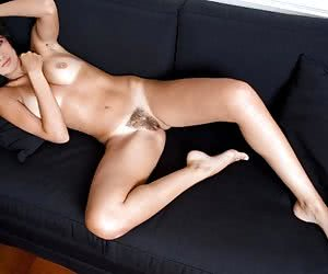 A lot of great photos with nude Salma Hayek showing her hairy pussy!