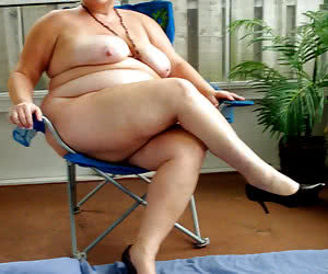 BBW nudist housewives with various breast size
