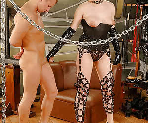 ball busting cock and ball torture