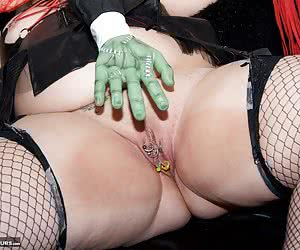 Happy Halloween everyone, Heres a Set I shot back in 2012 of Wicked Witch Lexie Cummings and here shes getting ready for