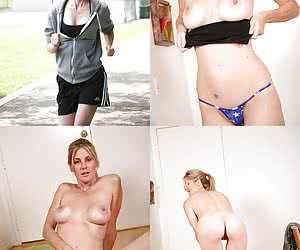 Dressed and Undressed Amateur Girls