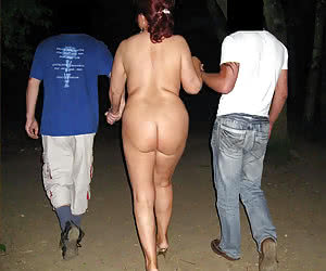 Amateurs who can show their asses on public in the night