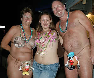 Crazy night party with horny mature people go wild