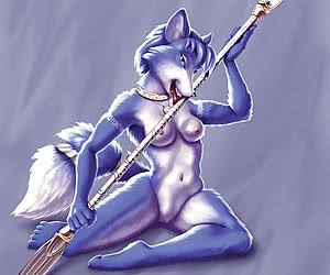 Hottest furry chicks with nothing on