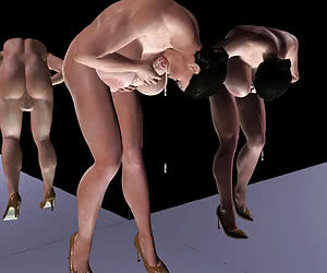 sexy shemale 3d cartoon