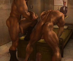 3D Gay Muscle