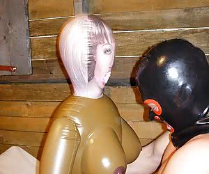 A yummy rubber girlfriend that never says no