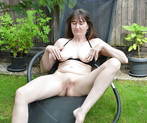 In the garden in a deck chair on relax.Beautiful weather there can ever take or bikini.And my pussy would be too.