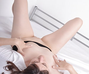 Shooting in or on the bed.Very sensual doing.Erotic Poses for my photographer.