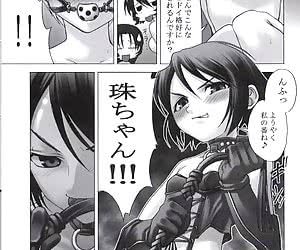 Helpless drawn babes from this latex manga gallery get dressed in latex clothes and tortured then.