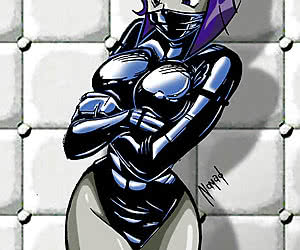 I think you don't know what fascinating latex hentai is all about if you haven't visited this gallery.
