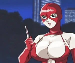 The mission to stay calm after checking out this latex anime gallery with busty whores is impossible.