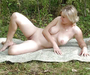 Exhibitionist wife showing everything