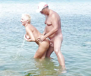 Young amateur nudists