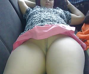 Plump wives in pantyhose on the bed
