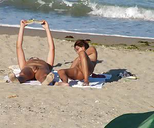 Amateur voyeur snapshots from clothing-optional beaches of the world