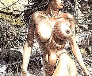 Busty babes existed long ago, and those vintage adult cartoons prove it!