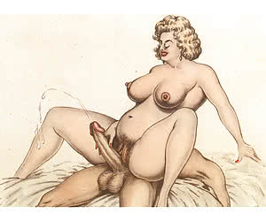 Fat bitches and hairy pussies only in vintage cartoons porn.