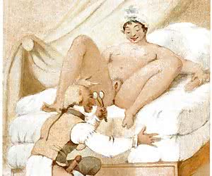 Hot ass penetration and vaginal sex are shown in this classic cartoon porn.
