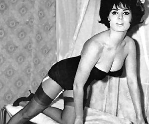 Undoubtedly sexy chicks in vintage lingerie perform really nice and wonderful showoff