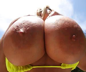 Supporting Huge Tits